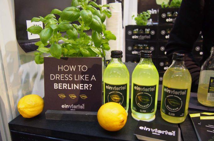 EinViertel Basilikum-Limonade