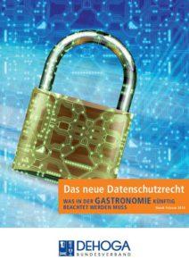 DEHOGA - Das neue Datenschutzrecht