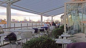 Rive Hamburg: Außenterrasse