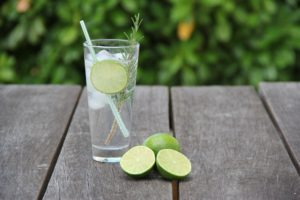 Trend-Getränke Gin Tonic