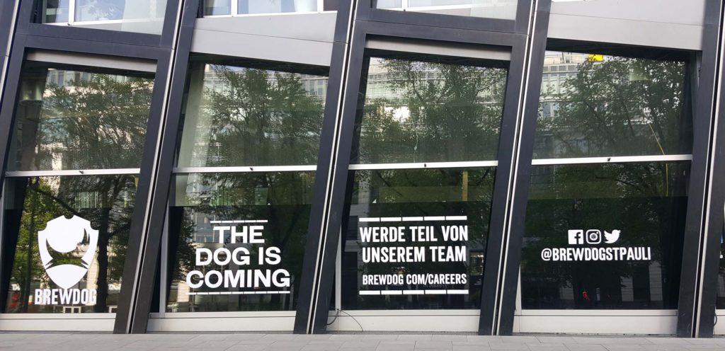 Brewdog St.Pauli vor der Eröffnung