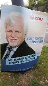 Ralf-Dieter Fischer: Bezirkswahl mit Eigeninteressen