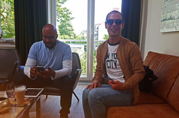 Kevin von Holst und Trendscout Nico