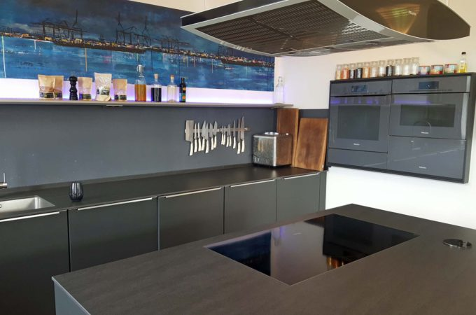 Kev's Kitchen: Kochbereich