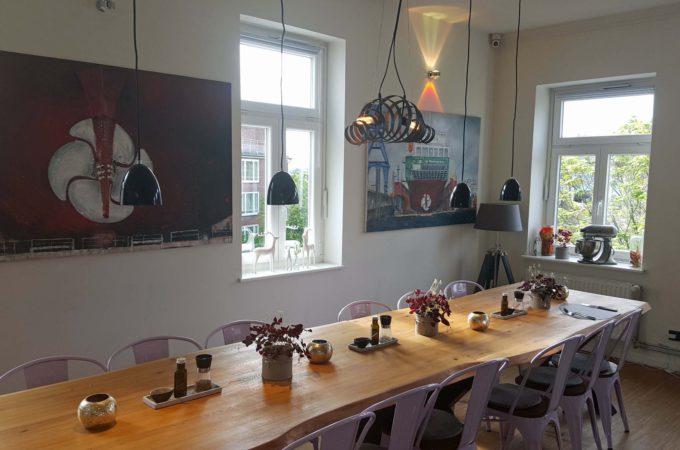 Kev's Kitchen (Alsterloft): Der Tisch