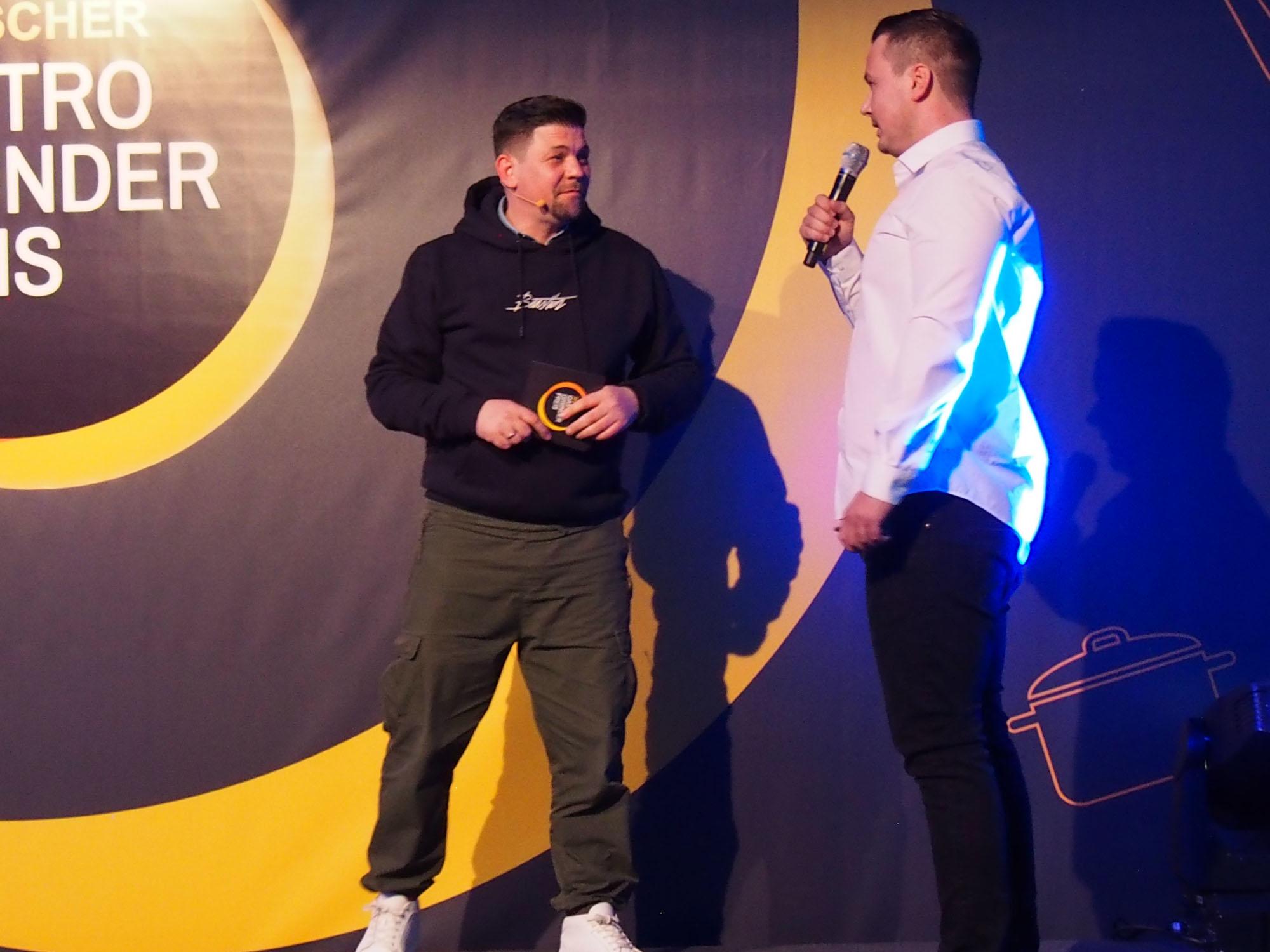 Tim Mälzer moderiert das Gastro-Gründerpreis Finale 2019