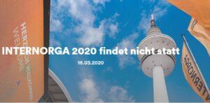 Internorga 2020 findet leider nicht statt