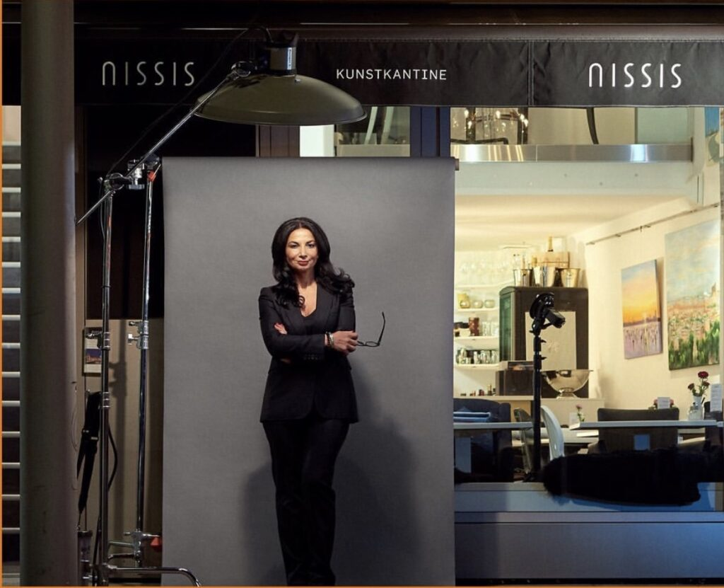 Nissi Roloff und ihre Kunstkantine