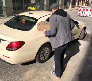 Pizzalieferung an Polizei Hamburg #kochenfuerhelden #rockourkitchen