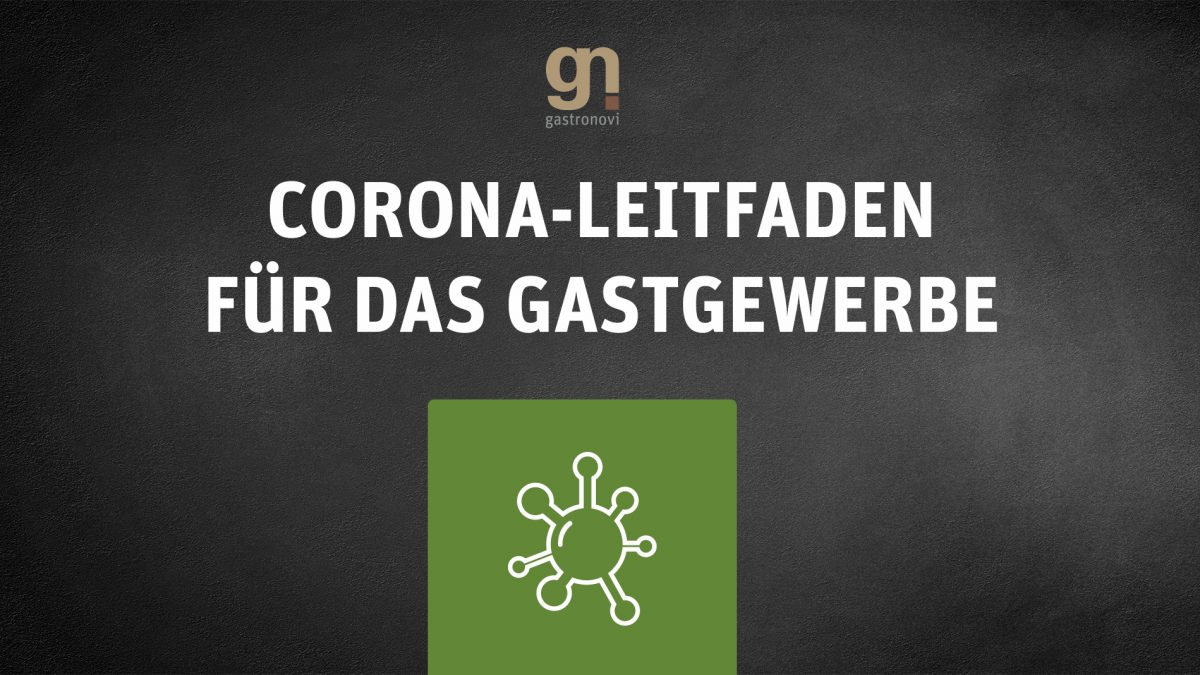 Gastronovi Leitfaden zur Corona-Krise