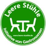 """Aktion """"Leere Stühle"""" - Initiative von Gastronomen"""