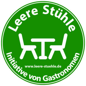 "Aktion ""Leere Stühle"" - Initiative von Gastronomen"