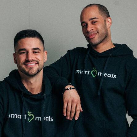 Smart Meals Gründer Jeffrey Jampoh und Daniel Huber