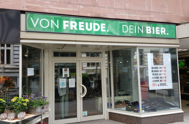 Hamburger Craft Beer Von Freude - ehemaliger Flagship Store