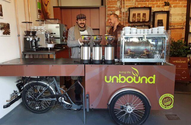 Mobile Kaffee-Bar von Paul&Ernst