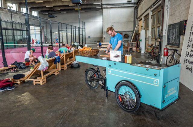 Paul&Ernst: Food-Bike im Einsatz