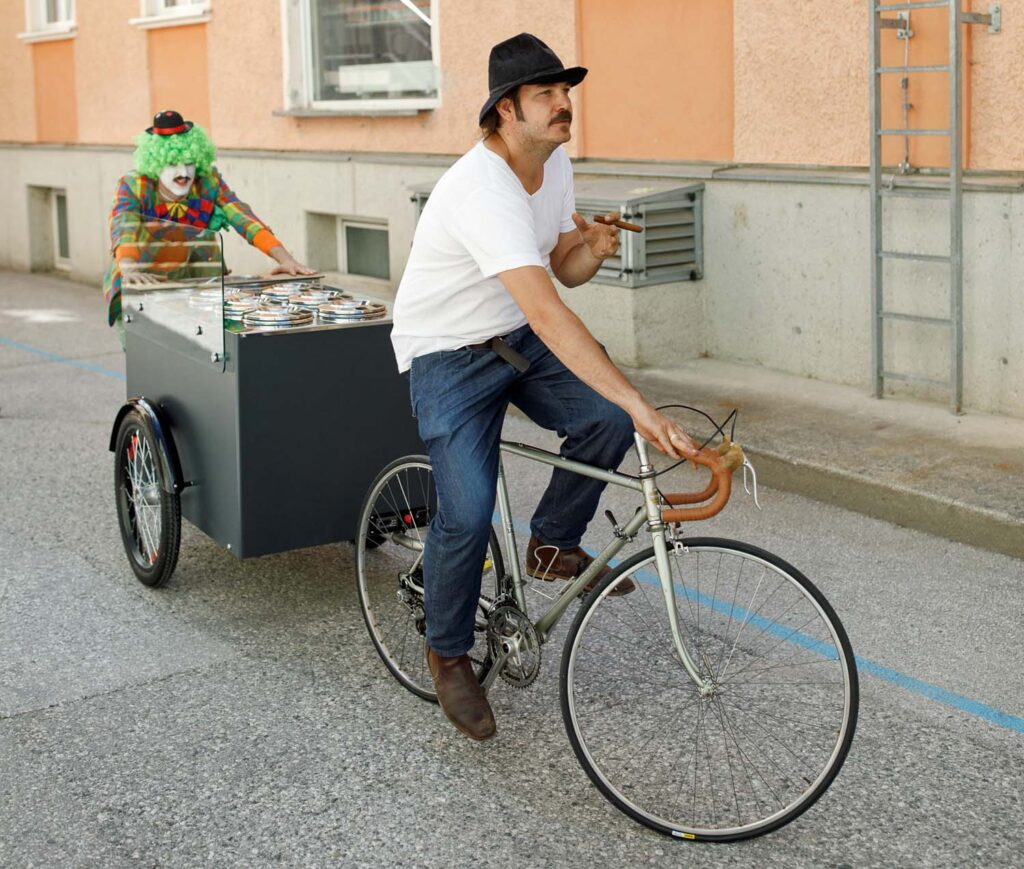 Lasten-Fahrrad (Foto: Paul&Ernst)