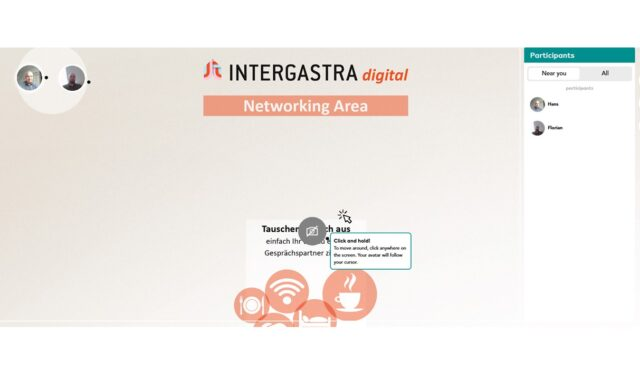 Intergastra digital: Virtuelles Networking
