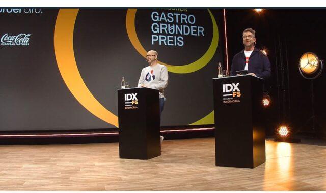Patrick Rüther und Tim Koch moderieren das Gastrogründerpreis-Finale 2021