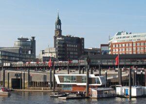 Hamburg Landungsbrücken Gastronomie