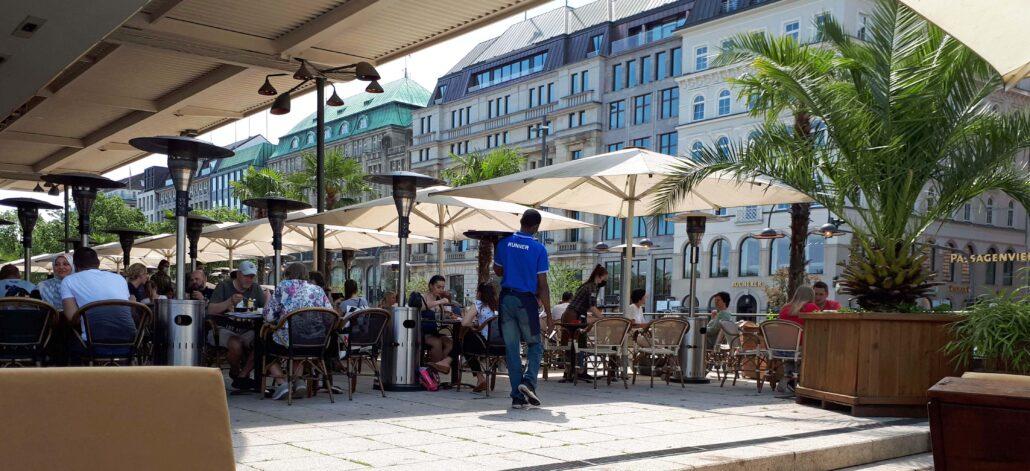 Hamburg, ALEX an der Alster (Alsterpavillon)